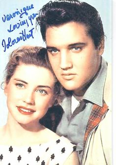 Dolores Hart and Elvis