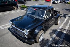 Mean old mini pick up