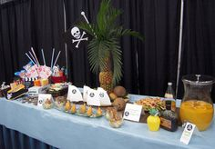 Host a Pirate Party with Island Decorations, Food and Drinks!