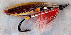 Magog Smelt (Salmon version created and tied by Bill Wilbur) Fishing Lures, Fly Fishing, Salmon Flies, Fly Tying Patterns, Feathers, Classic, Pretty, Salmon, Fishing Jig
