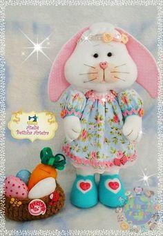 Coelha com molde