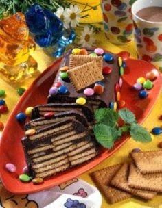 Das Rezept für Schokoladen-Kekskuchen und weitere kostenlose Rezepte auf LECKER.de