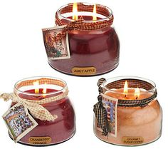 A Cheerful Giver Set of 3 22oz. Mama Jar Candles - I just love these!