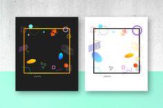 Abstract Bundle. 30 Prints on Behance