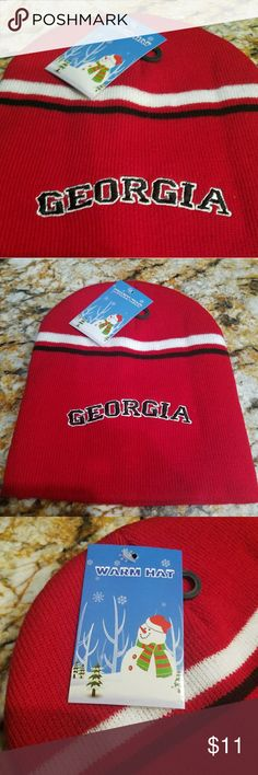 Georgia Bulldog Beanie New With Tags Georgia Bulldog Beanie New With Tags  Awesome Christmas Gift for Men Women or Children Accessories Hats