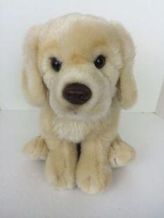 RARE-Webkinz-Signature-Golden-Retriever-Plush-Dog-WKS1006-Ganz-NO-CODE