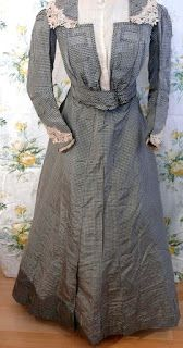 All The Pretty Dresses: Smart Plaid Edwardian Dress