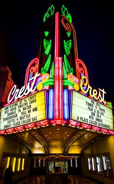 Crest theater sacramento CA  by Thomas Hawk  http://www.flickr.com/photos/thomashawk/4046564718/