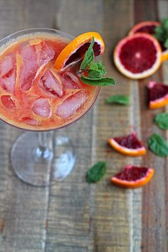 No-Stress Blood Orange Spritzer & How to ease stress, fatigue, depression, insomnia, headaches, IBS, and PMS with magnesium supplements