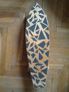 Skateboarding, griptape, art, diy, wood