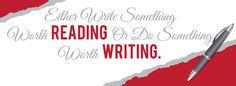 Either write something worth reading or do something worth writing. #Write to the Point Communications.
