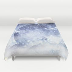Buy ultra soft microfiber Duvet Covers featuring Even mountains get cold by HappyMelvin. Hand sewn and meticulously crafted, these lightweight Duvet Cover vividly feature your favorite designs with a soft white reverse side.