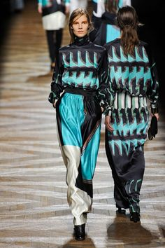 Suvi Maria Koponen | Dries Van Noten F/W 2012 Paris