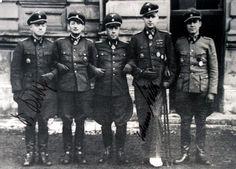 """Lambang 8. SS-Kavallerie-Division """"Florian Geyer"""" yang memadukan kuda (senjata klasik pasukan kavaleri) dengan pedang. Divisi Waffen-SS..."""