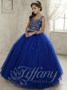 Everything Formals - Tiffany Princess Little Girls Dress 13443, $300.00 (http://www.everythingformals.com/Tiffany-Princess-13443/)