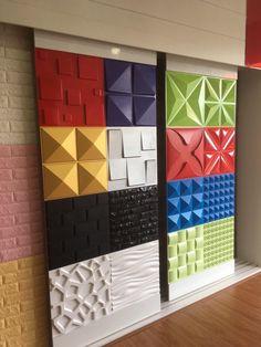 Show of housing - minhas escolhas de decor - Welcome Haar Design 3d Wall Tiles, Wall Tiles Design, Tv Wall Design, Ceiling Design, Creative Wall Decor, 3d Wall Decor, Diy Wall, Room Decor, Stone Wall Panels