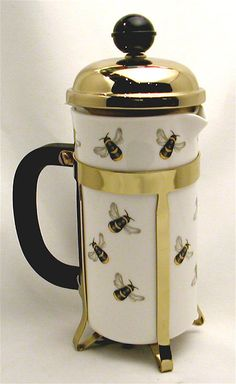 bumble bee french press!