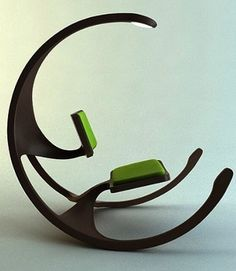 Delicieux Rocking Wheel Chair By Mathias Koehler 15 Cool And Modern Rocking Chairs