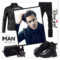 """""""Men"""" by helena1990 ❤ liked on Polyvore featuring Kiehl's, black and men"""