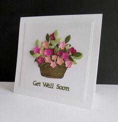 IC593 - Flower Basket by sistersandie - Cards and Paper Crafts at Splitcoaststampers