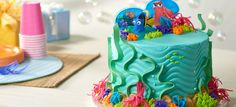 How-To Create a Fintastic Finding Dory Cake - Cakes.com
