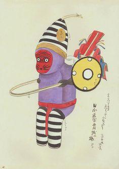 old Japanese toy design, via 50 Watts