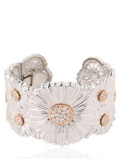 Collection featuring Delettrez Bracelets & Bangles, Daniela Villegas Necklaces, and 78 other items Daisy Bracelet, Diamond Bracelets, Diamond Jewelry, Bangle Bracelets, Daisy Jewellery, Bangles, Necklaces, Jewelry Sets, Fine Jewelry
