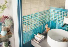 MARCA CORONA -Türkiz fürdőszoba design