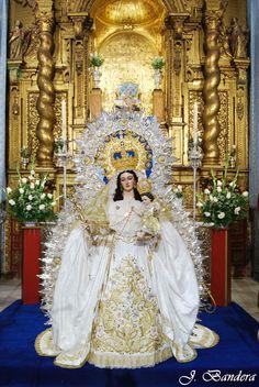 Las Fotografías de Bandera: La Virgen de las Nieves de Santa María la Blanca