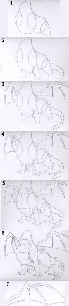 How+to+Draw+Spyro's+Body+by+TrainerSpyro.deviantart.com+on+@deviantART