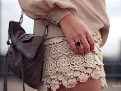 lace shorts, must have summer 2013 www.theshadeoffashion.blogspot.it