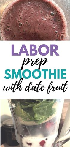 Pregnancy recipe for date fruit smoothie. Perfect smoothie for labor and preparing your body ready for natural childbirth in the third trimester. Date Fruit Recipes, Date Smoothie Recipes, Superfood Recipes, Vitamix Recipes, Pregnant Drinks, Pregnant Diet, Healthy Pregnancy Food, Pregnancy Nutrition, Pregnancy Date