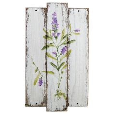 Look what I found on Lavender Plant Plank Wall Art by Prinz Arte Pallet, Pallet Wall Art, Pallet Painting, Painting On Wood, Lavender Paint, Lavender Walls, Lavender Decor, Barn Wood Crafts, Reclaimed Wood Projects