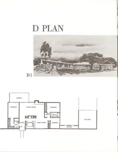 Living Conditioned Homes. Northridge, CA. Built ~1957. Palmer  Krisel, Architects. Sanford D. Adler, Builder -| Flickr - Photo Sharing!