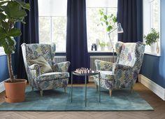 STRANDMON oorfauteuil | IKEA IKEAnl IKEAnederland nieuw inspiratie wooninspiratie interieur wooninterieur eyecatcher GLADOM salontafel tafel stoel fauteuil meubel meubels