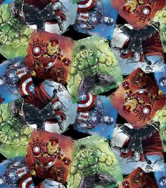 Marvel Avengers Ultron Cotton Fabric