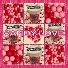 Vibrant pink and red mix of peanut-free, tree nut-free and gluten-free chocolates.  Packaged in resealable container complete with a special Valentine's message on the lid.