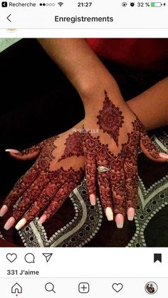 Top -You can find Bridal henna and more on our website. Mehndi Designs Finger, Mehndi Designs For Fingers, Unique Mehndi Designs, Henna Designs Easy, Beautiful Henna Designs, Henna Tattoo Designs, Mehndi Fingers, Simple Henna Tattoo, Henna Tattoo Hand