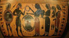 Hydria Achilles weapons Louvre E869 - Achille — Wikipédia