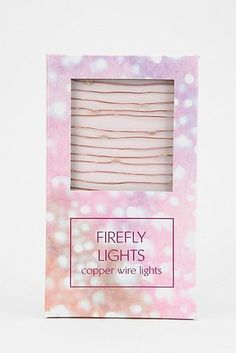 Firefly Lights, $20 | 37 Things That Actually Belong On Your Wishlist