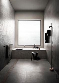 #bathrooms on cover | #block | #treverkhome #frassino | #marazzi adv campaign 2014 | photo #andreaferrari | styling #stefaniavasques | #wood inspiration | #concrete inspiration | #floor tiles | #wall tiles