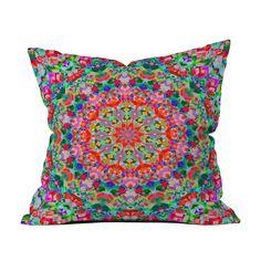 Kaleidoscope Outdoor Pillow   dotandbo.com