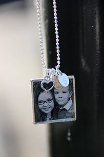 picture photo pendant frame necklace