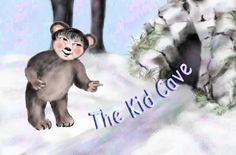 Gramma Cherbear set a menu page to help navigation through her Kid Caverns of Illustrated Bible Studies and Devotions for children. There is a lot to explore in the Kid Cave. Let's go spelunking through God's Word!