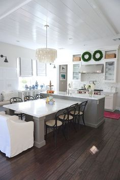 t shaped kitchen island with seating the center island has a built in table. Interior Design Ideas. Home Design Ideas