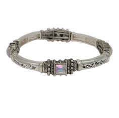Rosemarie Collections Women's Stretch Bangle Bracelet Gift for Mom 'Mothers Are Angels on Earth' *** Find out more about the great product at the image link.