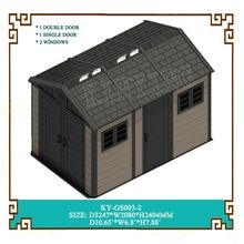 kinying's designs offer quality plastic home and outdoor storage solutions for your house and garden. Outdoor Garden Sheds, Outdoor Greenhouse, Outdoor Storage Sheds, Plastic Sheds, Mobile House, Large Sheds, Storage Cabinets, Bathroom Storage