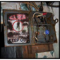 Danger High Voltage Sign - Signage - Decorating Supplies