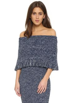 10 Off-The-Shoulder Sweaters to Show a Bit of Skin This Spring | StyleCaster