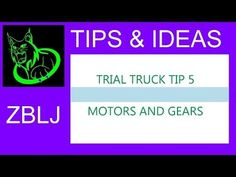 TIPS & IDEAS: Lego technic off road Trial truck tip 5 - motors and gears